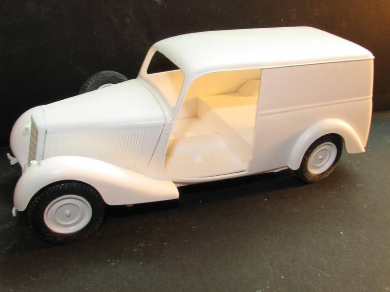 Maquette mercedes 170V Lieferwagen IMG_8520