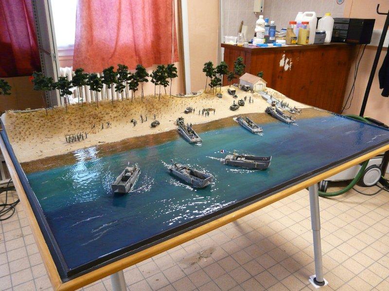 diorama - (Maquettiste) Diorama libération Île d'Oléron. Un peu d'histoire... Fin%201_zpsg9ajocbw