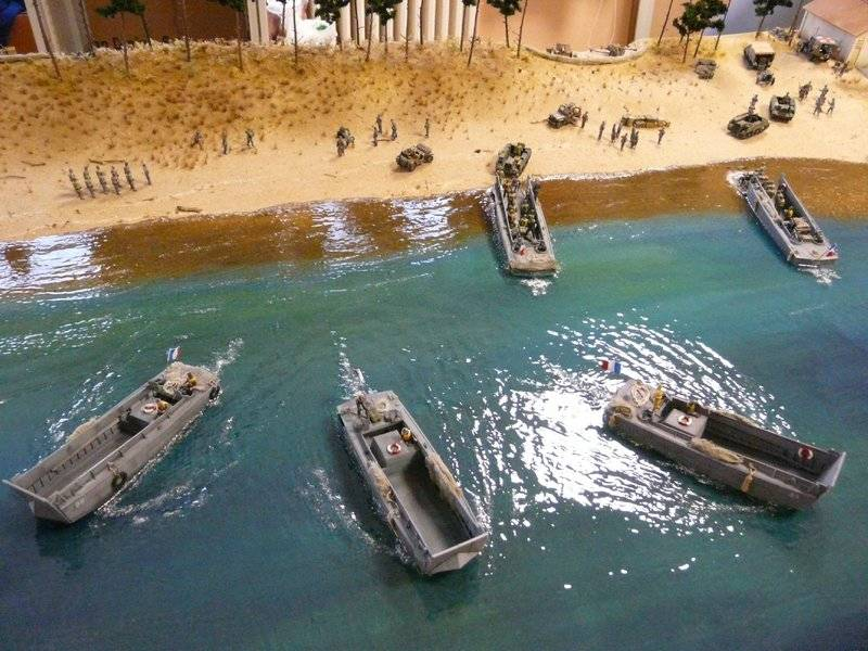 diorama - (Maquettiste) Diorama libération Île d'Oléron. Un peu d'histoire... Fin%205_zpsijj9nmhl