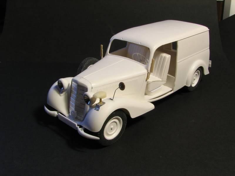 Maquette mercedes 170V Lieferwagen Photo004-8