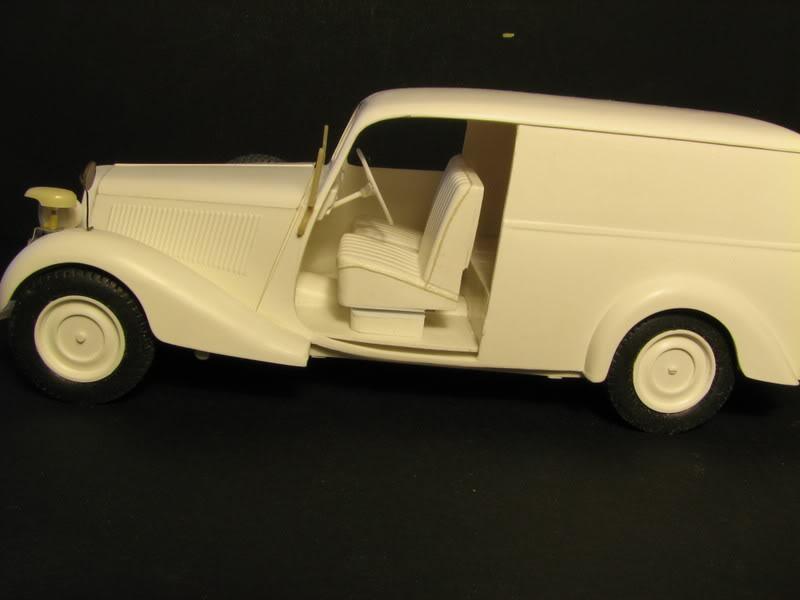 Maquette mercedes 170V Lieferwagen Photo006