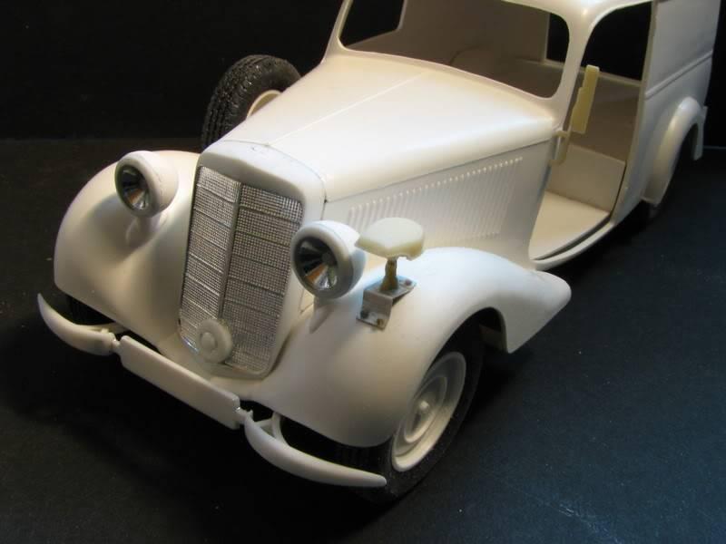 Maquette mercedes 170V Lieferwagen Photo023-6