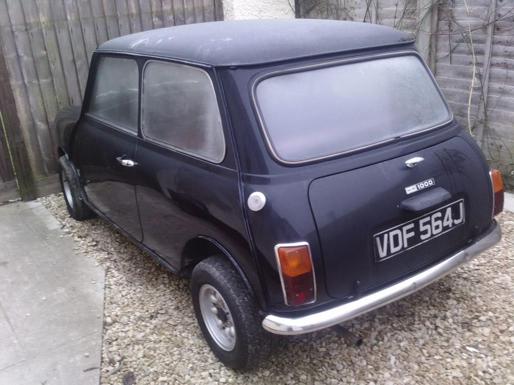 Bettsie the 1970's Mini LGIM0043