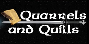 Come visit us at Quarrels and Quills! Qandqbanner