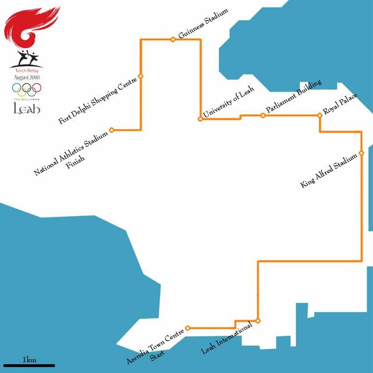 Paranor Island [SCJU Full Member] RouteMap