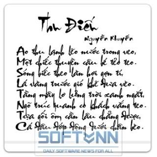 Bộ Font Chữ Thư Pháp Việt Nam - Tuyệt Đẹp Vnithuphap