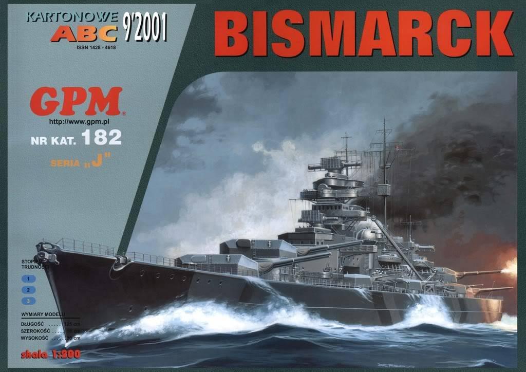 GPM BISMARCK. Cover
