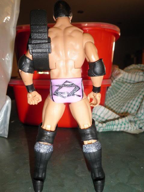 Custom WWE Elite Style Figures Aries2