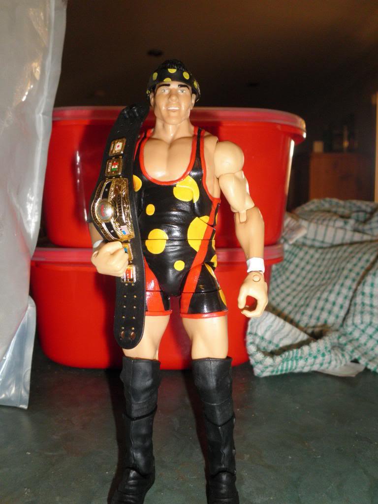 Custom WWE Elite Style Figures Cabana