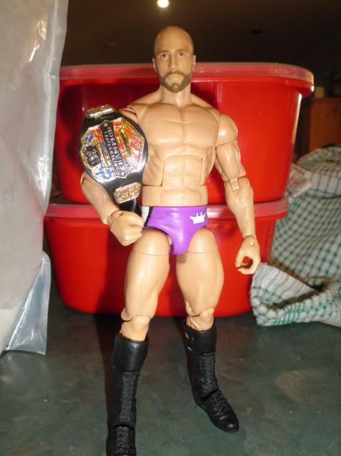 Custom WWE Elite Style Figures Cesaro