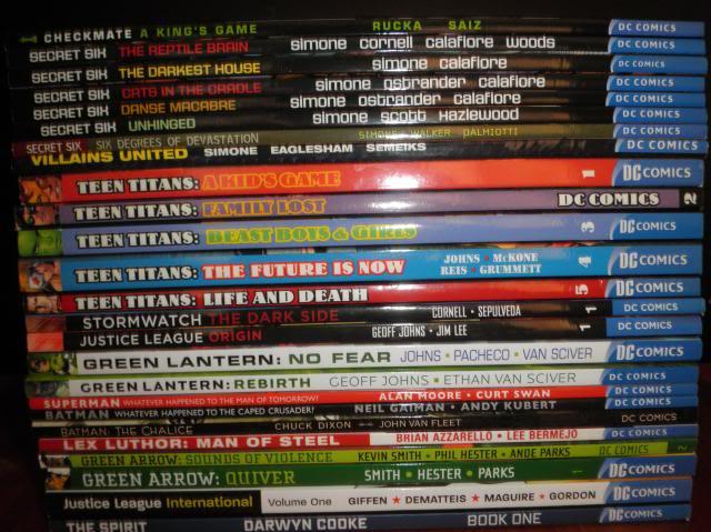 H: ML, DCUC.  W: ML Hand Ninjas, Moonstone Comics5