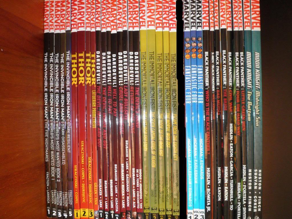 H: ML, DCUC.  W: ML Hand Ninjas, Moonstone Comics7