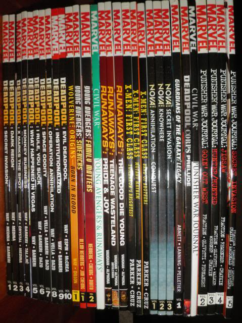H: ML, DCUC.  W: ML Hand Ninjas, Moonstone Comics8