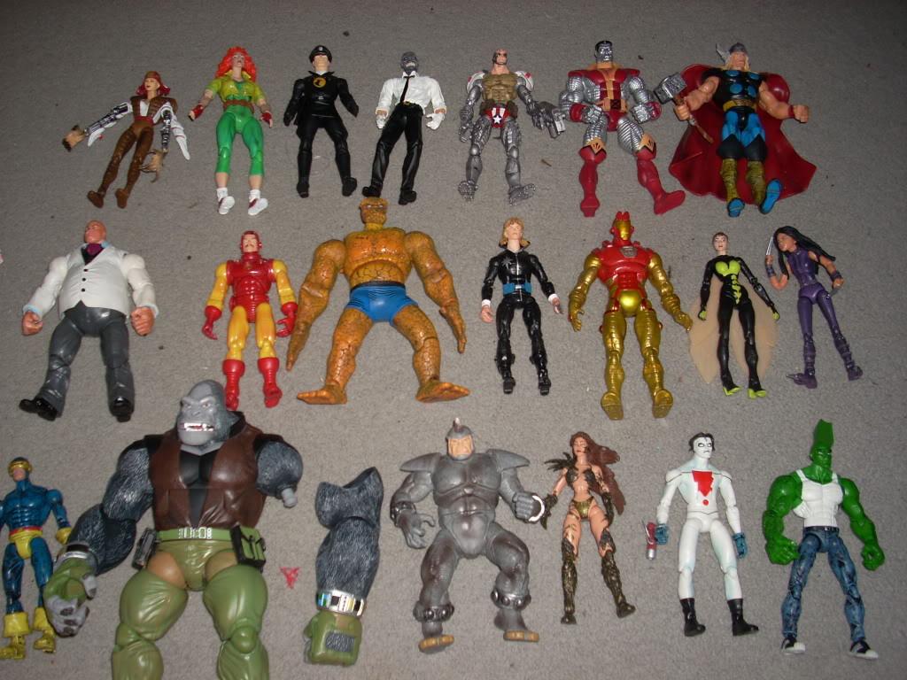 (EDIT 30/10) W: Giant Man BAF parts, DCU/DCSH, ML, Street Fighter. H: ML, LCBH DSCN0380