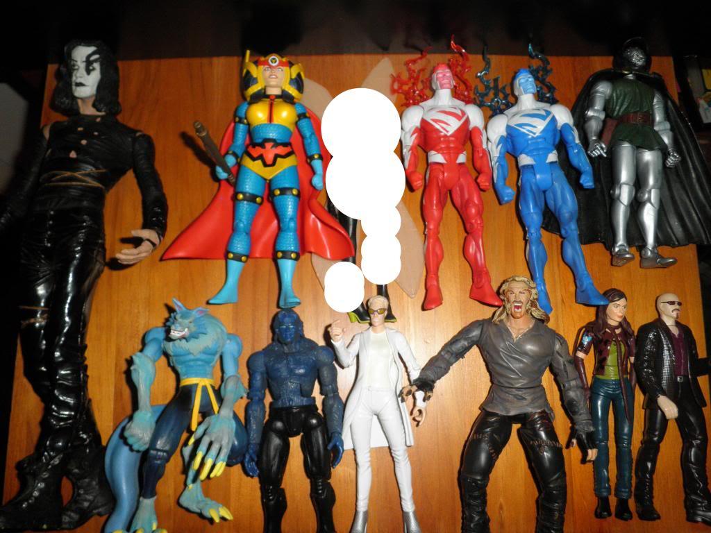 H: ML, DCUC.  W: ML Hand Ninjas, Moonstone Figures11