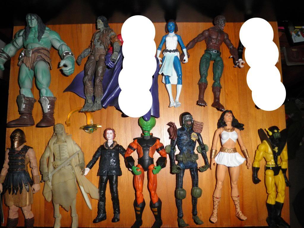 H: ML, DCUC.  W: ML Hand Ninjas, Moonstone Figures13