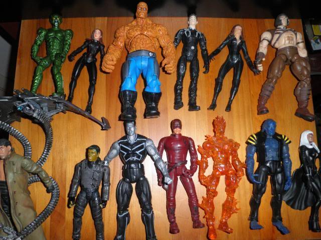 H: ML, DCUC.  W: ML Hand Ninjas, Moonstone Figures14