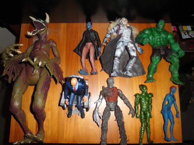 H: ML, DCUC.  W: ML Hand Ninjas, Moonstone Figures15