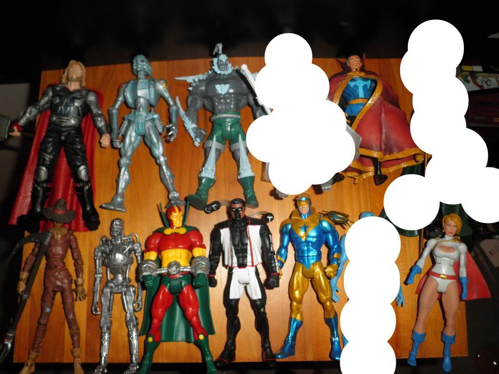 H: ML, DCUC.  W: ML Hand Ninjas, Moonstone Figures21