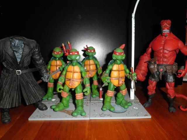 H: ML, DCUC.  W: ML Hand Ninjas, Moonstone Figures23
