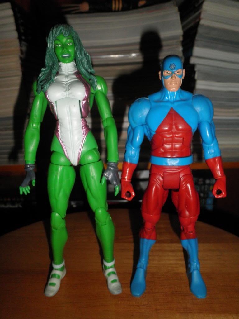 H: ML, DCUC.  W: ML Hand Ninjas, Moonstone Figures26