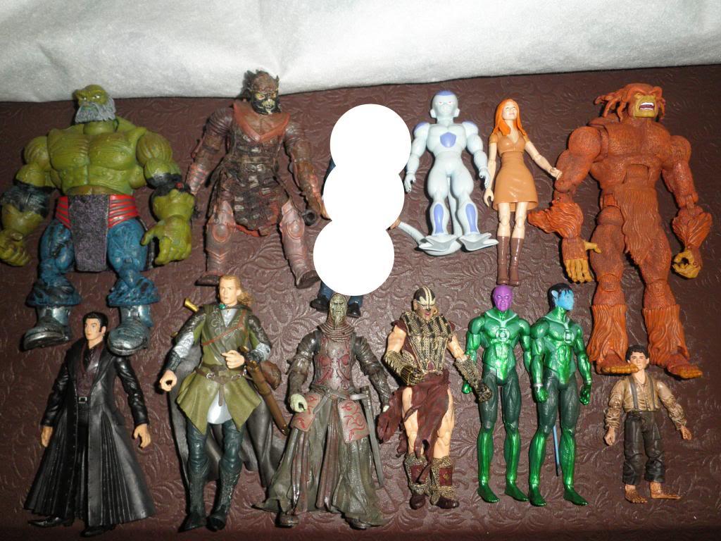 H: ML, DCUC.  W: ML Hand Ninjas, Moonstone Figures27