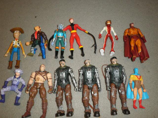 H: ML, DCUC.  W: ML Hand Ninjas, Moonstone Figures29