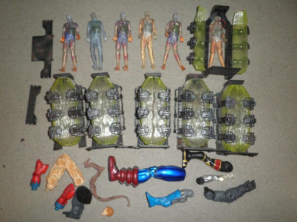 H: ML, DCUC.  W: ML Hand Ninjas, Moonstone Figures32