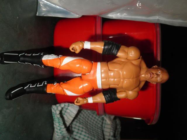 Custom WWE Elite Style Figures Kaval