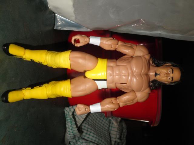 Custom WWE Elite Style Figures Neville