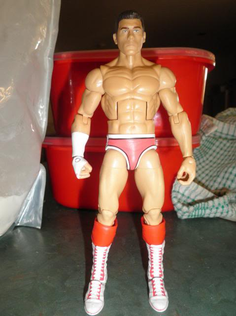 Custom WWE Elite Style Figures Rhodes