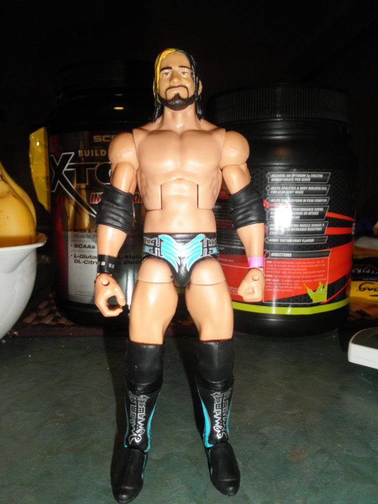 Custom WWE Elite Style Figures Rollins