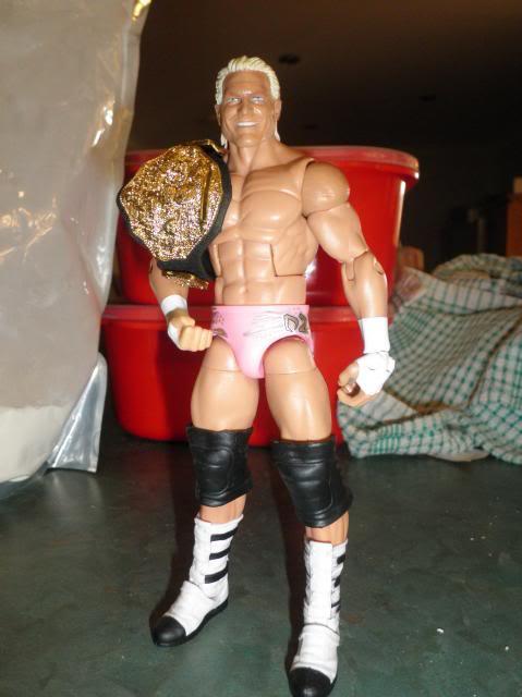 Custom WWE Elite Style Figures Ziggler
