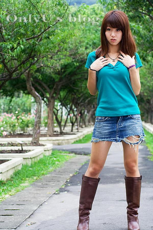 Yao Yao (Diêu Diêu) – Thủy Top của Đài Loan Yaoyao_green_02
