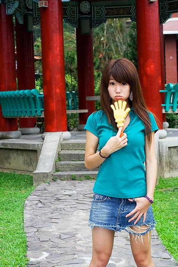 Yao Yao (Diêu Diêu) – Thủy Top của Đài Loan Yaoyao_green_12