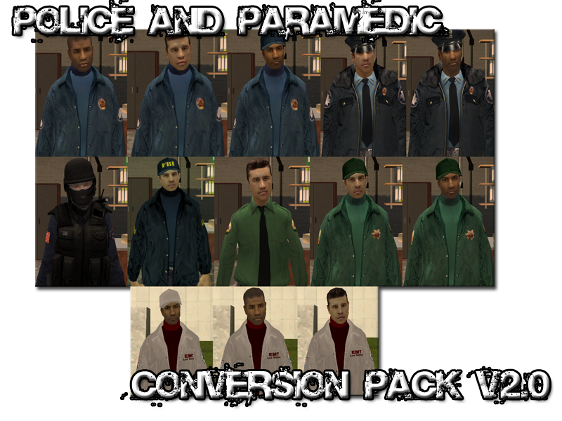 LSPD AND LSFD Skin Pack Picture1