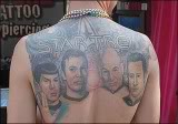 tatouage star trek A