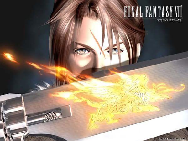 Final Fantasy I-XIII Ff8gunblade