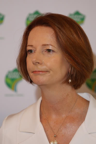 DROP BEARS JuliaGillardQueenslandFloodsOneYearLaterSy96VdgpsNUl