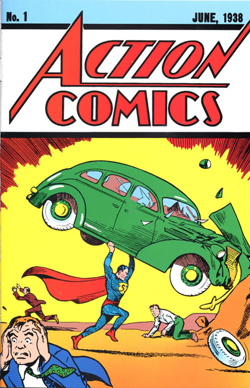 Homenajes a la portada de Action Comics #1 3bed0cc4