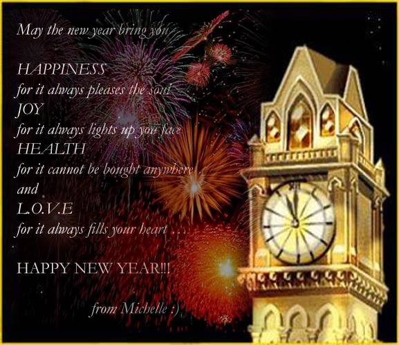 HAPPY NEW YEAR! Vezaeng