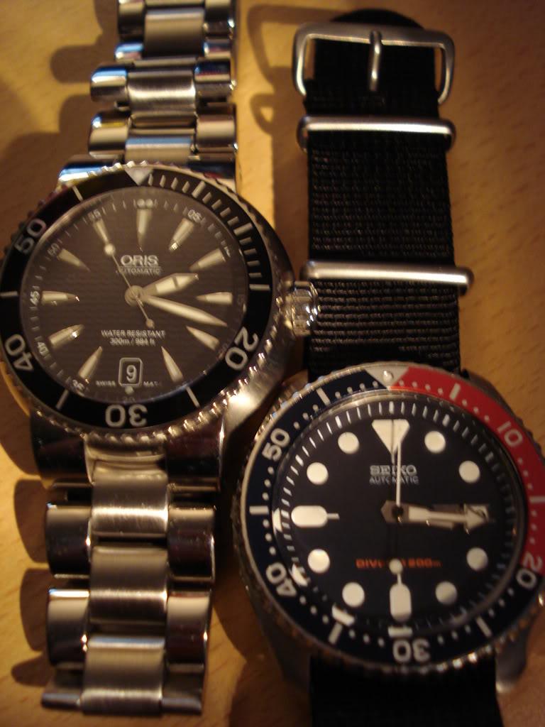 Un débat houleux : Oris Diver Date Vs Seiko Kinetic DSC00813