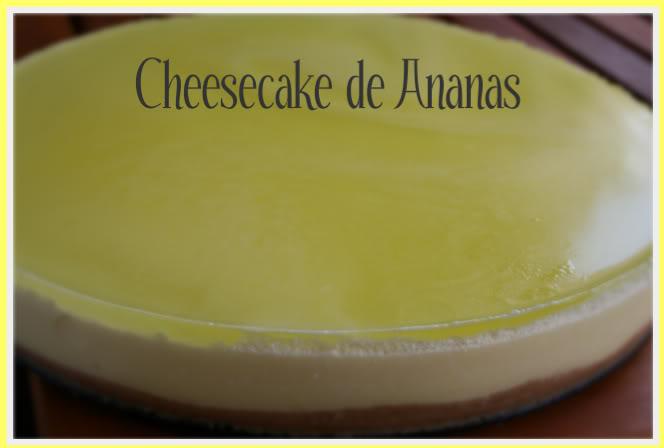 Cheesecake de Ananás ZQuitrio006