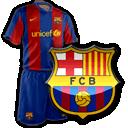 Camisetas con escudo Barcelona