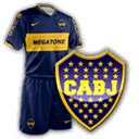Camisetas con escudo Boca