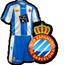 Camisetas con escudo Espanyol