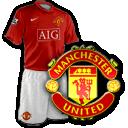 Camisetas con escudo Manchester_united