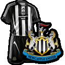 Camisetas con escudo Newcastle