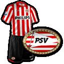 Camisetas con escudo Psv
