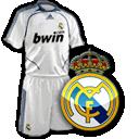 Camisetas con escudo Real